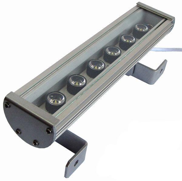 Линейный светильник 18W  290мм IP67 Wall washer холодный белый