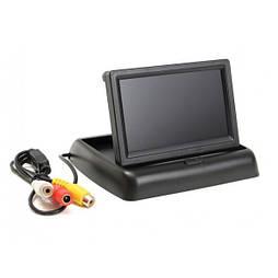 Монитор для камеры заднего вида 4,3'' JL403ST складной Черный