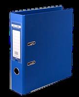Папка-регистратор двухсторонняя ELITE, А4, ширина торца 70 мм, синяя