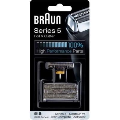 Сетка, режущий блок Braun 51S (8000 Series)