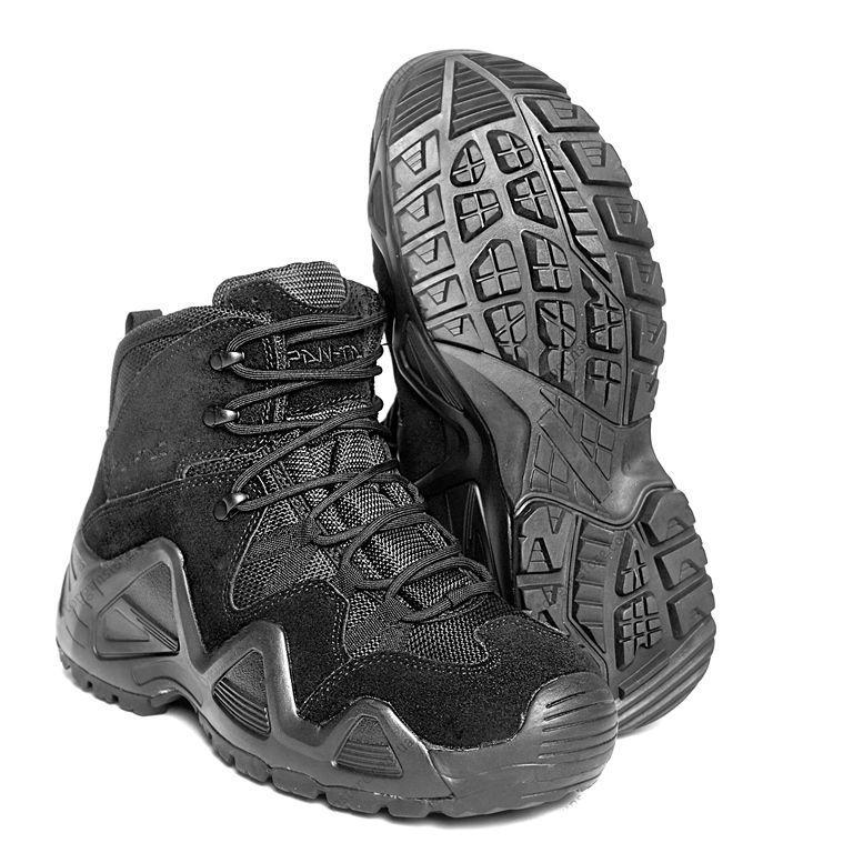 Заниженные ботинки тактические на мембране PANTAC