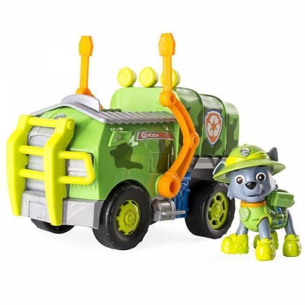 Paw Patrol Щенячий патруль Роккі з серії Джунглі Jungle Rescue Rocky and Rocky's Jungle Truck