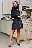 1651/7 Модное женское велюровое платье разные цвета, фото 9