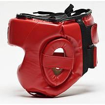 Боксерский шлем Leone Training Red, фото 3