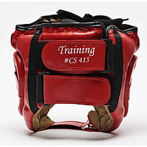 Боксерский шлем Leone Training Red, фото 2