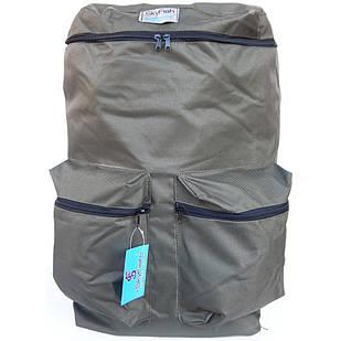 Рюкзак для рыбалки и охоты SkyFish 60 л большой водонепроницаемый Олива
