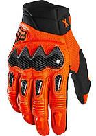 Мото перчатки FOX Bomber Glove [FLO ORANGE], S (8)