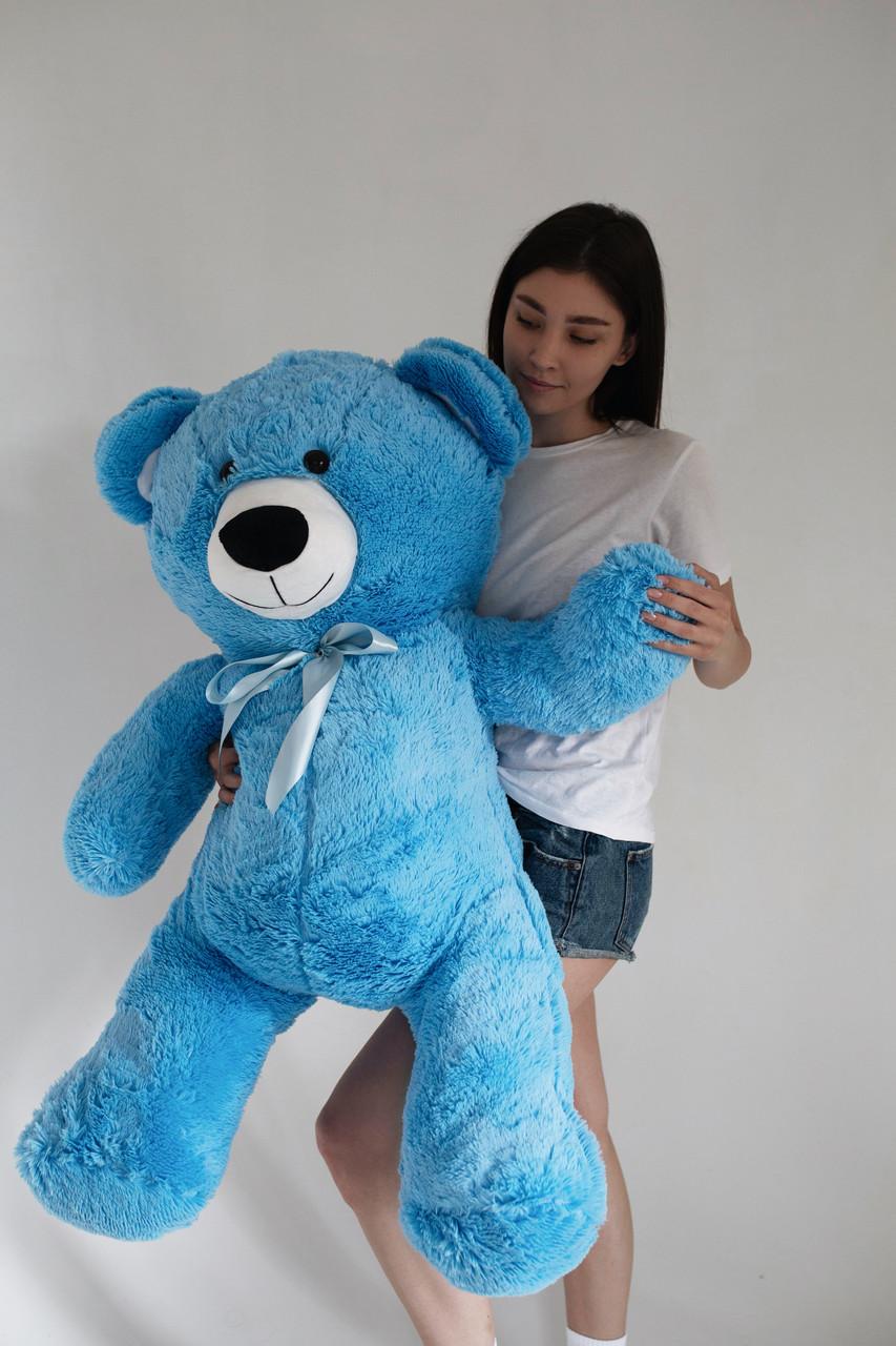 Плюшевий Ведмедик Голубий 140см