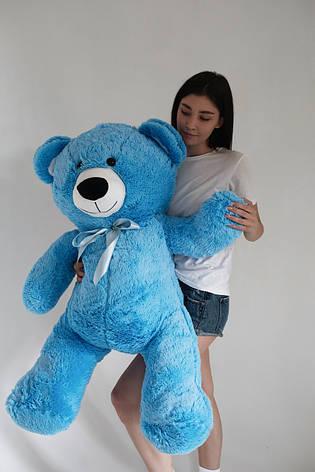 Плюшевий Ведмедик Голубий 140см, фото 2