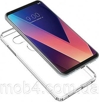 Прозорий силіконовий чохол для LG V30