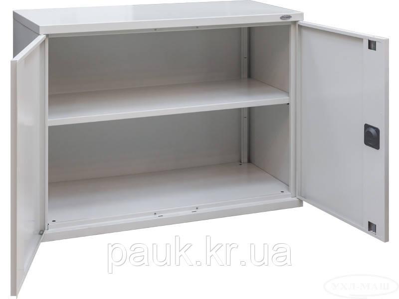 Металлический шкаф для документов ШКА-10, офисная антресоль металлическая