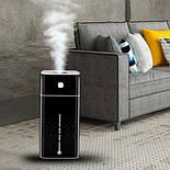 Аккумуляторный увлажнитель воздуха с ватными фильтрами (3 шт.) 1000мл Черный, фото 5