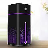 Аккумуляторный увлажнитель воздуха с ватными фильтрами (3 шт.) 1000мл Черный, фото 8