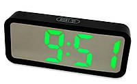 Электронные настольные led часы с будильником и термометром DT-6508 електронний годинник настільний (GIPS)