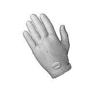 Кольчужная перчатка 5палая для обвалки NIROFLEX Fix размер M до запястья саморегулируемое крепление пружиной