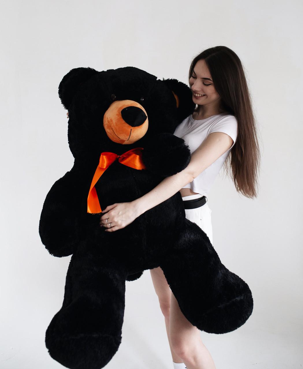 Плюшевий Ведмедик Чорний 140см (Версія Limited)