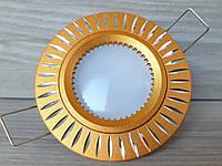 Светильник точечный Feron GS-M394 GU5.3 МR-16 золото, фото 1