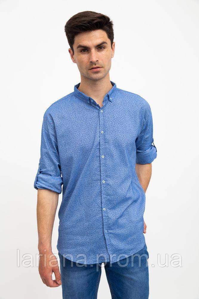 Рубашка 511F016 цвет Голубой