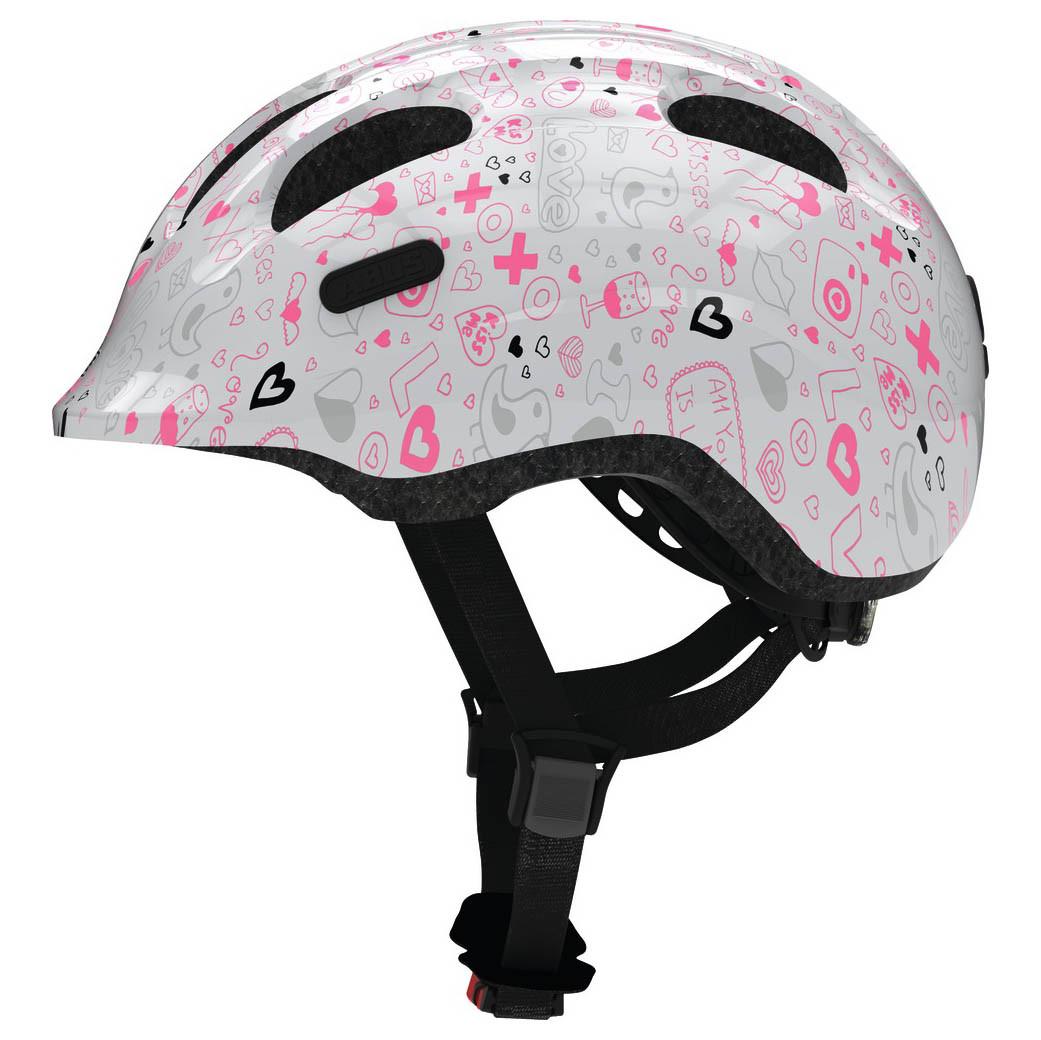 Велосипедний дитячий шолом ABUS SMILEY 2.1 M 50-55 White Crush