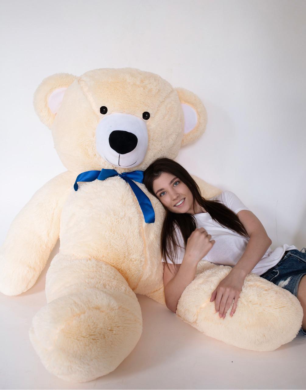 Плюшевий Ведмедик Персиковий 200см
