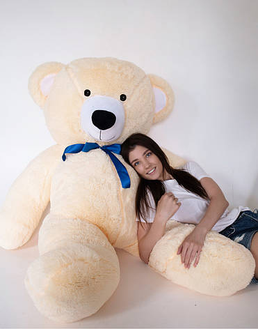 Плюшевий Ведмедик Персиковий 200см, фото 2