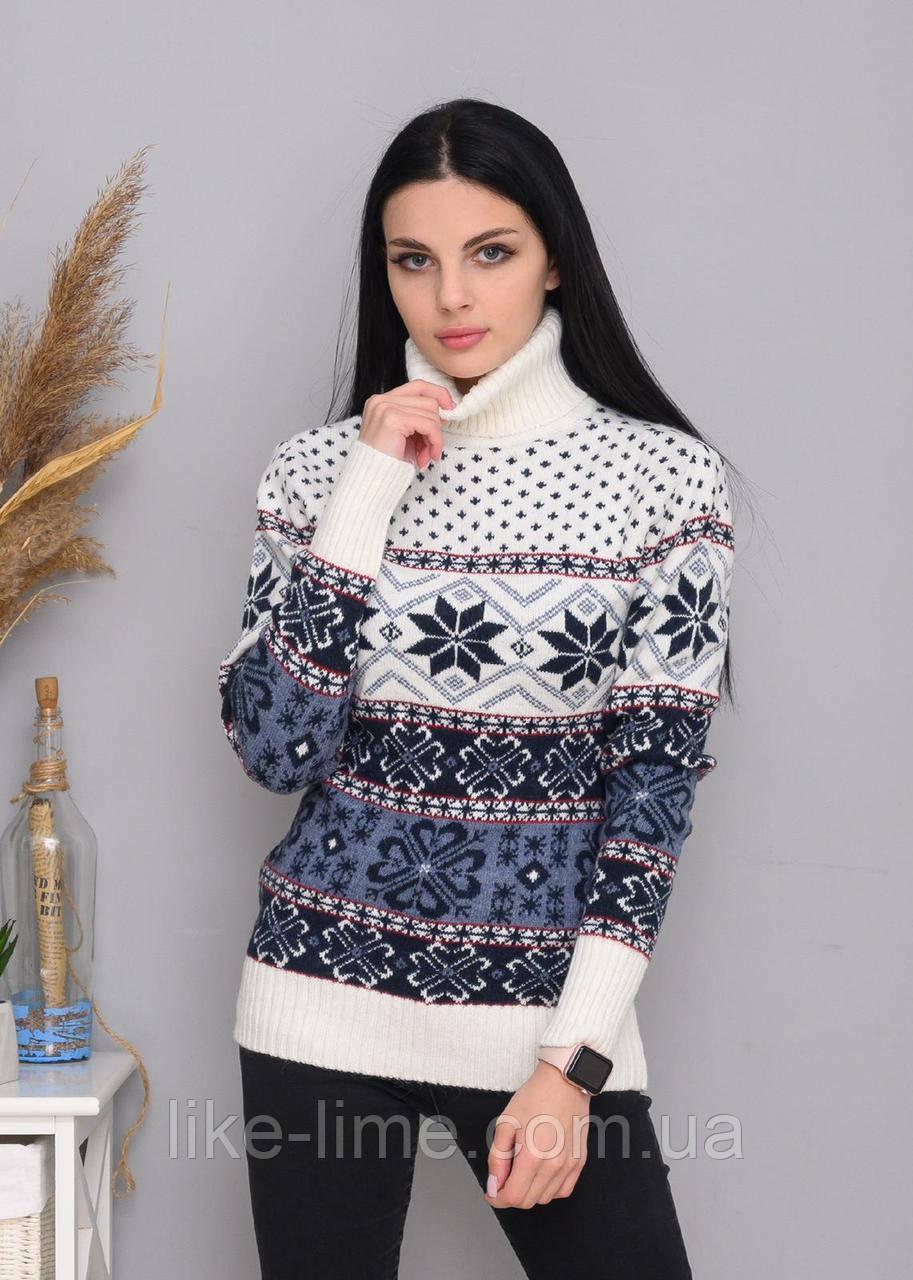 Жіночий новорічний светр, святковий светр