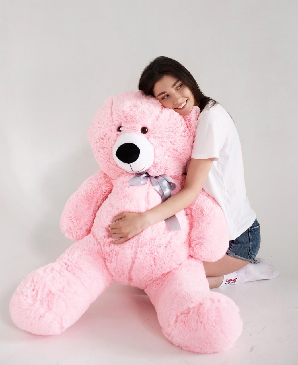 Плюшевий Ведмедик Рожевий 160см