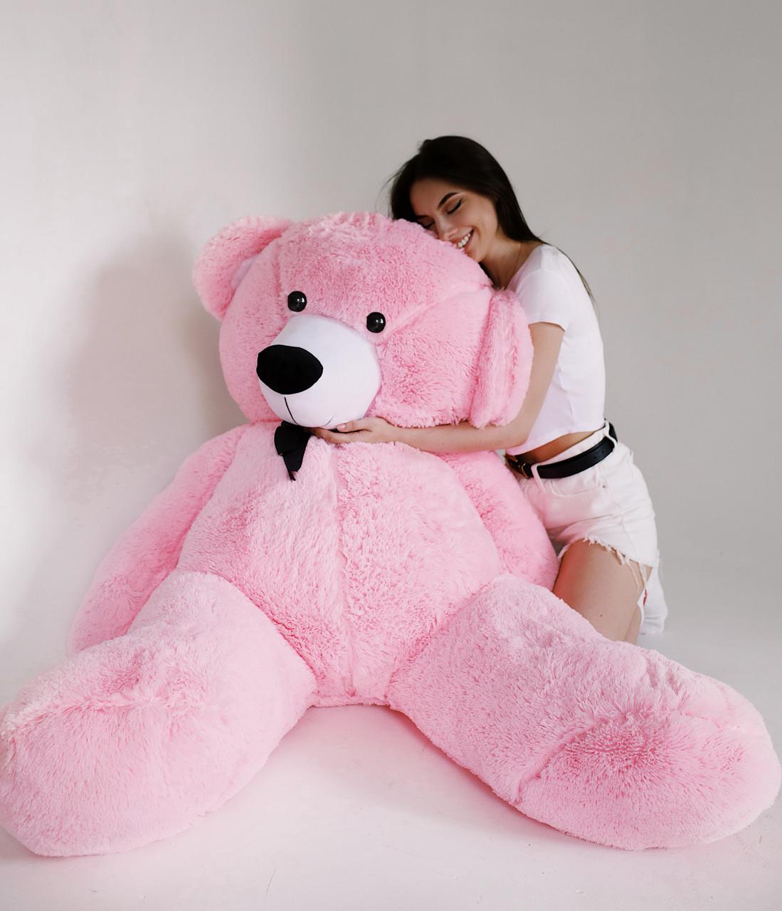 Плюшевий Ведмедик Рожевий 200см
