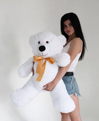 Плюшевий Ведмедик Білий 120см, фото 2