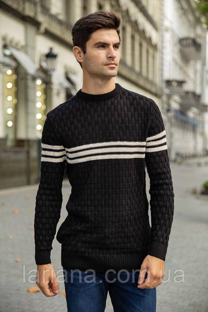 Джемпер мужской 154R2029 цвет Черный