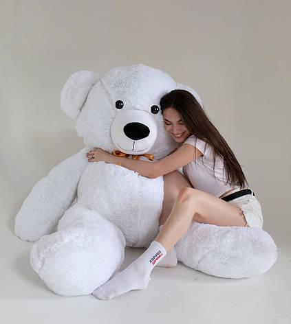 Плюшевий Ведмедик Білий 200см, фото 2