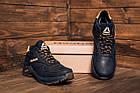 Мужские Кроссовки Reebok на меху Мужские зимние кожаные ботинки Reebok G-Step, фото 2