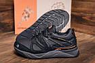 Мужские зимние кожаные кроссовки на Меху MERRELL vlbram Black Повседневные кроссовки мужские зимние, фото 9