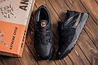 Мужские зимние кожаные кроссовки на Меху MERRELL vlbram Black Повседневные кроссовки мужские зимние, фото 10