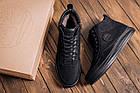 Мужские зимние кожаные ботинки Timberland  Black  мужские зимние ботинки Зимние мужские кроссовки, фото 10