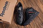 Мужские зимние кожаные ботинки Reebok Black leather Зимние мужские кроссовки, фото 8