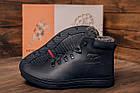 Мужские зимние кожаные ботинки Polar Bear Black leather Мужская зимняя обувь Чоловіче зимове шкіряне взуття, фото 10