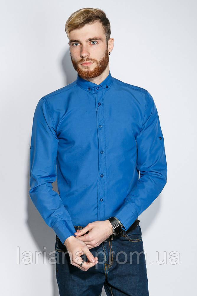 Рубашка №333F007 цвет Лазурный