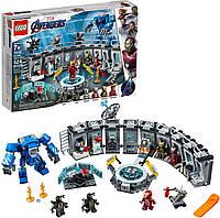 Конструктор Лего Лаборатория Железного Человека 76125 LEGO Marvel Avengers Iron Man Hall of Armor
