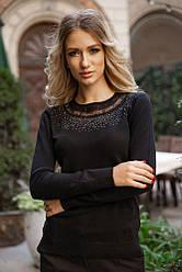 Свитер женский 131R5516 цвет Черный