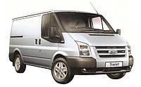 Задняя подножка (защита) Ford Transit 2000+