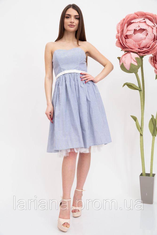 Платье женское 131R2770 цвет Сине-белый