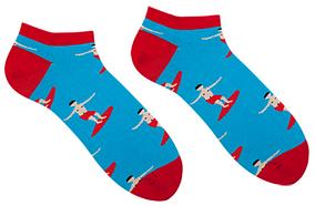 Носки короткие Sammy Icon Cascais Short 40-46 Blue/Red
