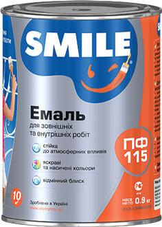 ПФ-115 Эмаль Smile голубая 2.8 кг