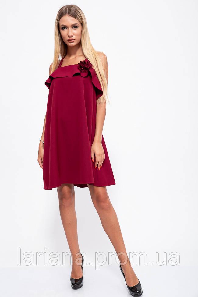 Сарафан женский 131R2532 цвет Бордовый