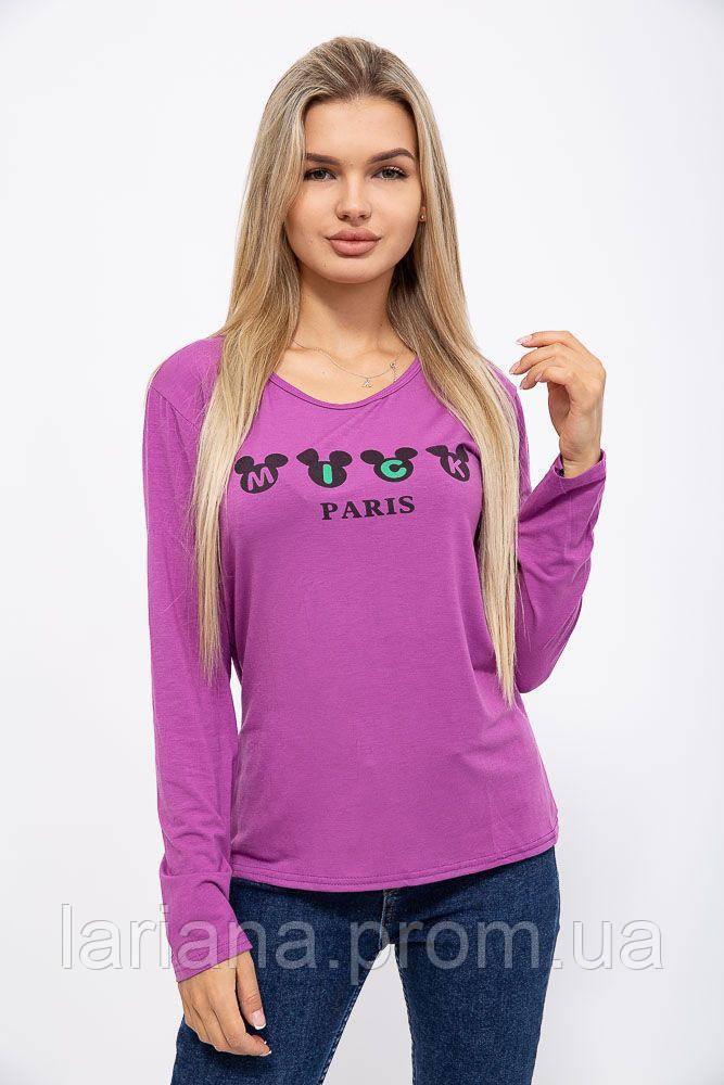 Батник женский 131R23009-4 цвет Фиолетовый