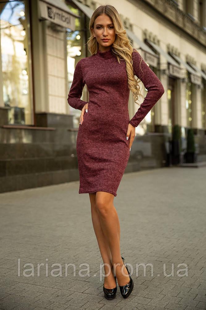 Платье 153R1082 цвет Бордовый