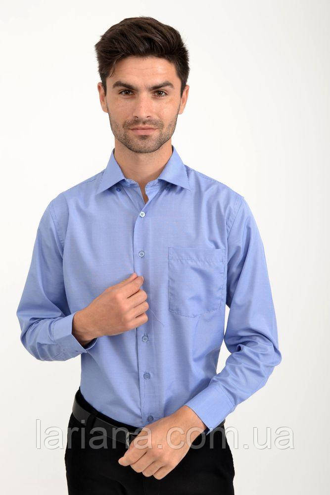 Рубашка 9021-30 цвет Сине-белый, клетка