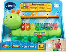 Музичний інструмент Гусениця ксилофон ВиТеч сафарі Vtech Zoo Jamz Xylophone