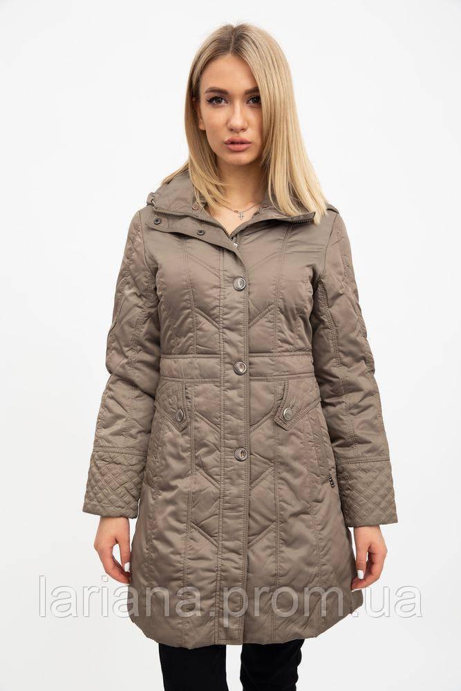 Пальто женское 131R000 цвет Оливковый